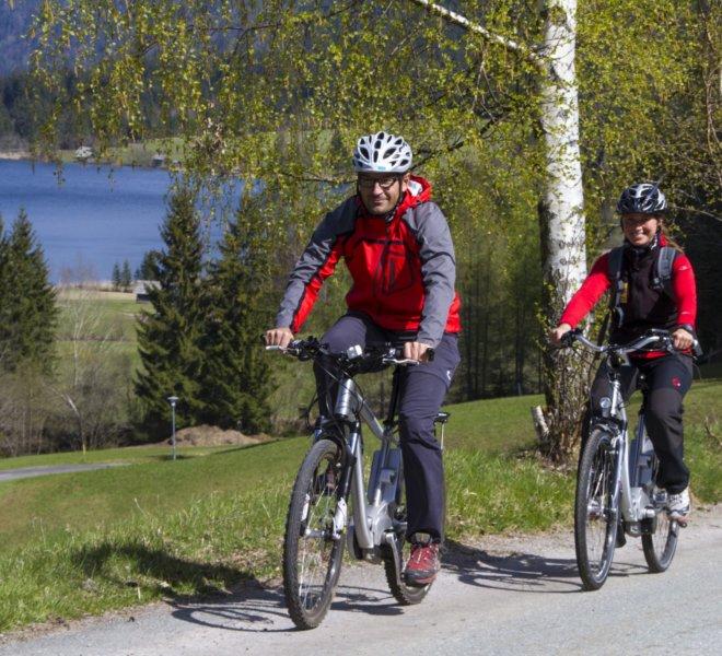 E-Bike-Arlbergerhof-Weissensee